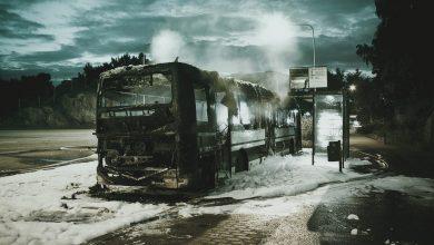 Photo of Un microbuz plin cu pasageri a luat foc la mică distanță de București. Traficul pe DN4 a fost îngreunat   VIDEO