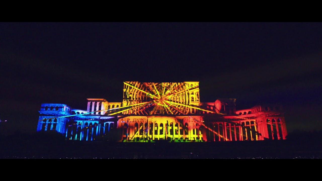 Începe iMapp Bucharest 2021 în curând. Show-uri de video mapping și concert Subcarpați în Piața Constituției
