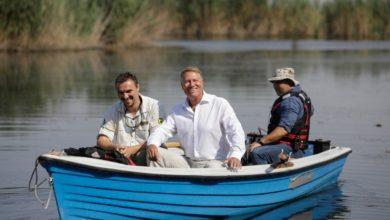 Photo of Klaus Iohannis, vizită în Parcul Natural Comana, aproape de București. Președintele a vorbit despre schimbările climatice și a lăudat autoritățile locale: Vă dau nota zece | VIDEO