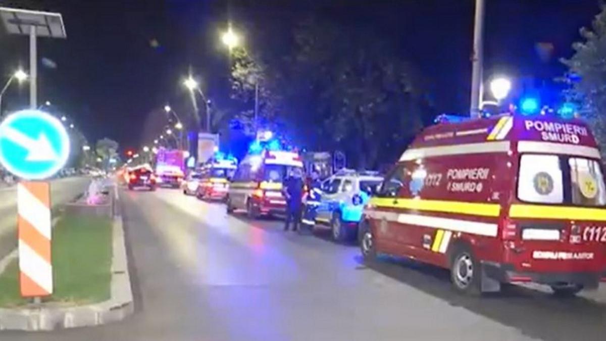 Incendiu azi-noapte la spitalul pentru copii Marie Curie din București. Nimeni nu a fost însă rănit