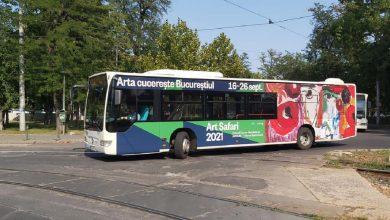 Photo of Muzeul în Mișcare prezent pe 10 linii de autobuze STB. Art Safari se plimbă prin Capitală
