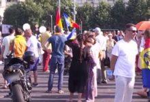 Photo of Protest în Piața Victoriei din București. 200 de anti-vacciniști cer demisia Guvernului
