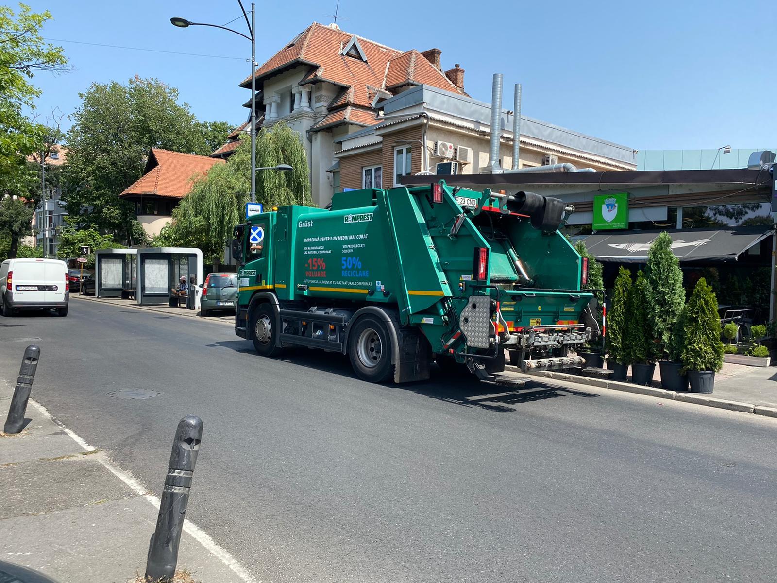 Răsturnare de situație în scandalul gunoaielor. Romprest acceptă să asigure curățenia în Sectorul 1 la jumătate din prețul cerut în iarnă