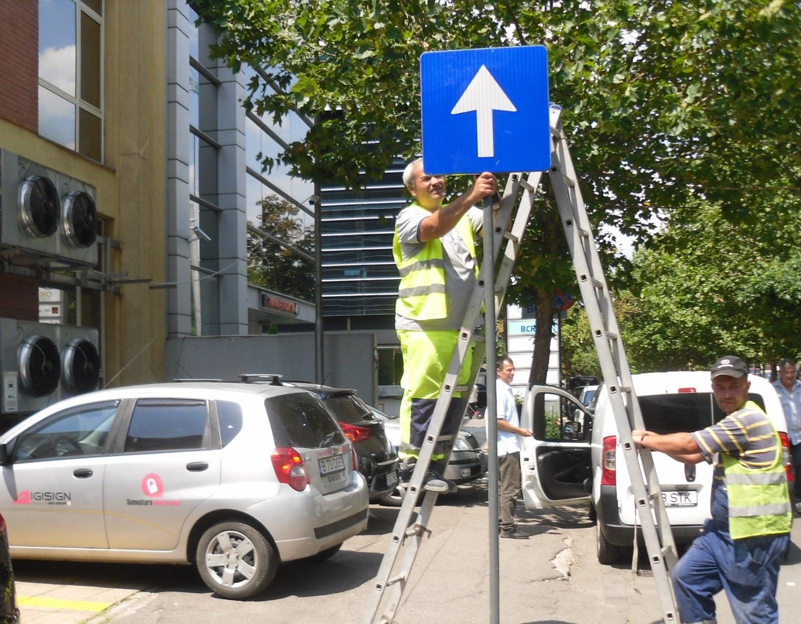 ADP Sector 1 continuă fluidizarea traficului. Nouă străzi din sector vor deveni cu sens unic