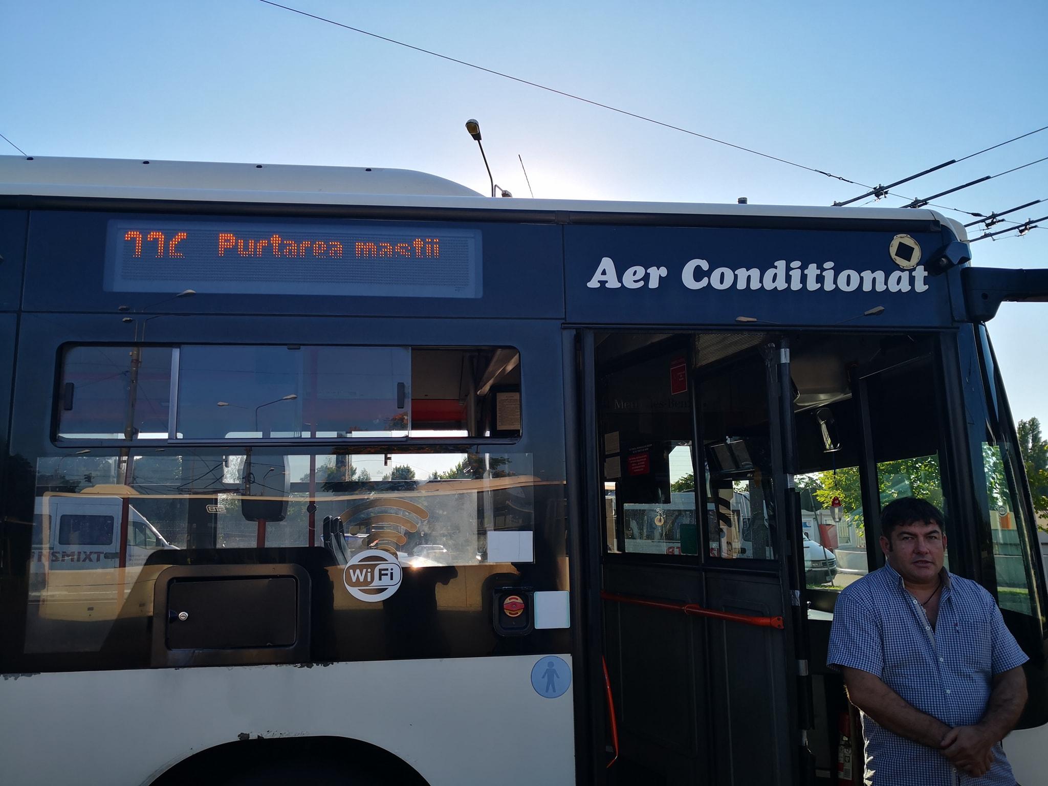 Bilete mai scumpe, cu saună și bătaie la pachet în STB. Un șofer de autobuz, acuzat că a lovit un pasager care a cerut aer condiționat pe caniculă   FOTO & VIDEO