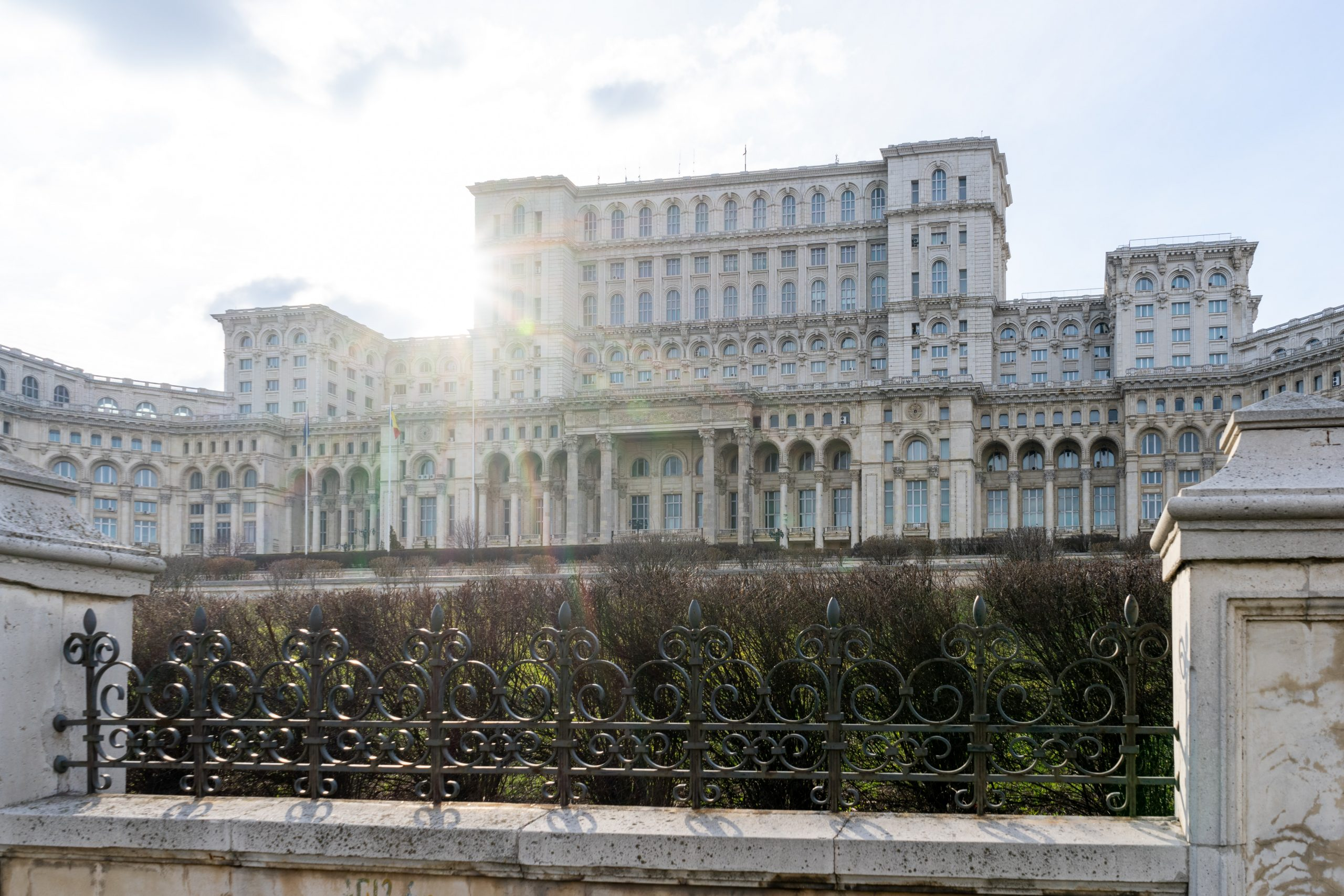 Vremea în București. Căldură mare, mon cher, la orele amiezii