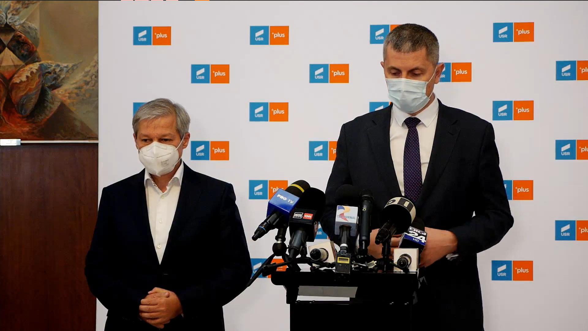 BREAKING NEWS | USR PLUS a depus moțiunea de cenzură, iar miniștrii formațiunii vor demisiona din Guvern săptămâna viitoare | VIDEO