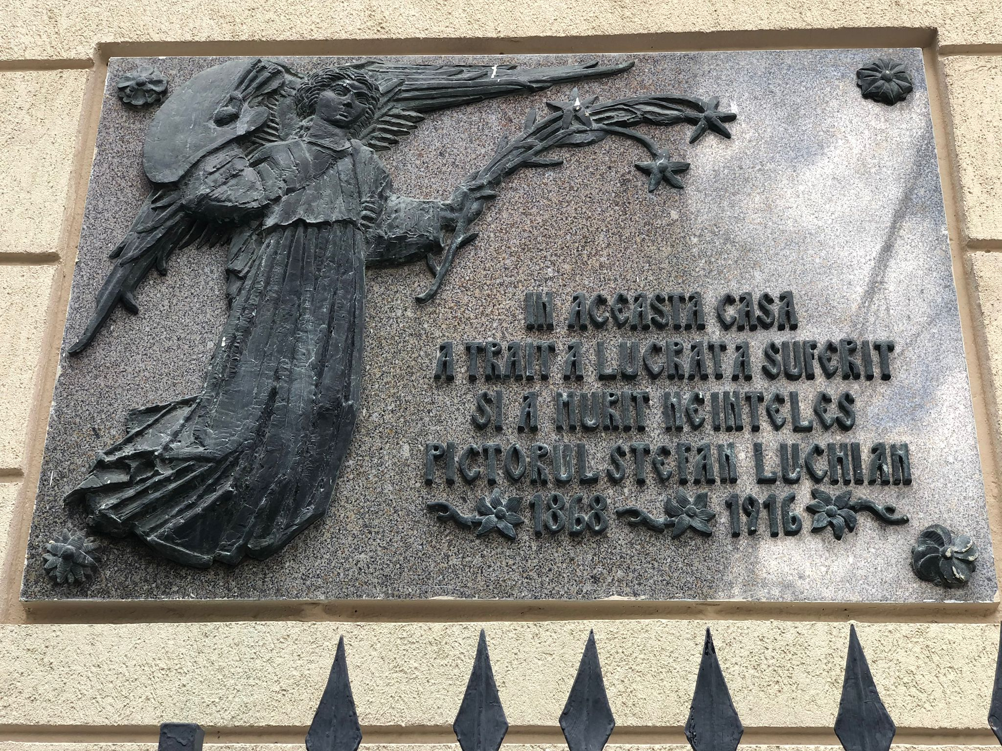 Casa lui Luchian din București a ajuns măcelărie cu slănină de Mangalița. Pictorul a murit sărac și paralizat, iar tablourile lui valorează azi averi