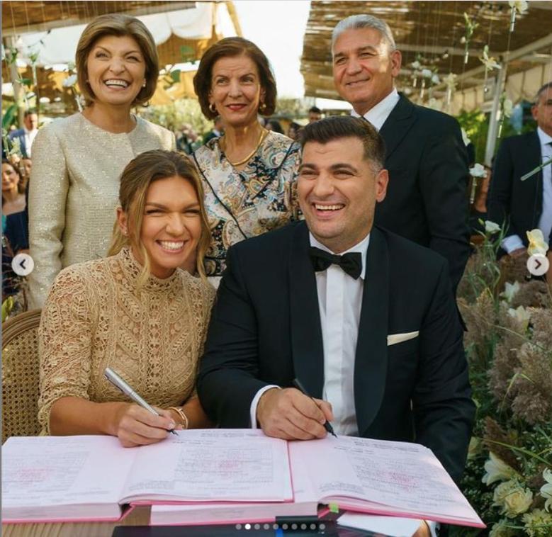 Cuim a fost la nuntă la Simona Halep