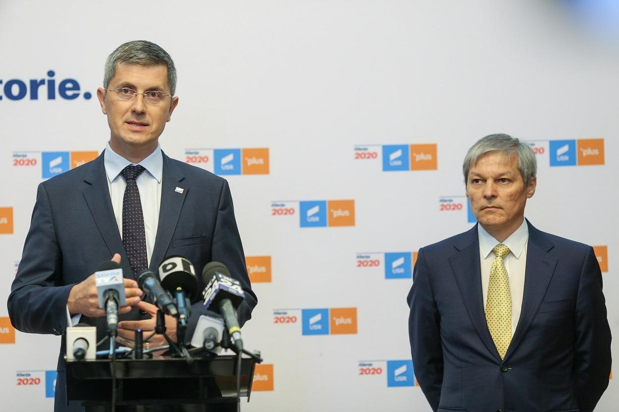 USR PLUS s-a supărat pe Florin Cîțu și susține moțiunea de cenzură a PSD. Premierul își pierde sprijinul politic