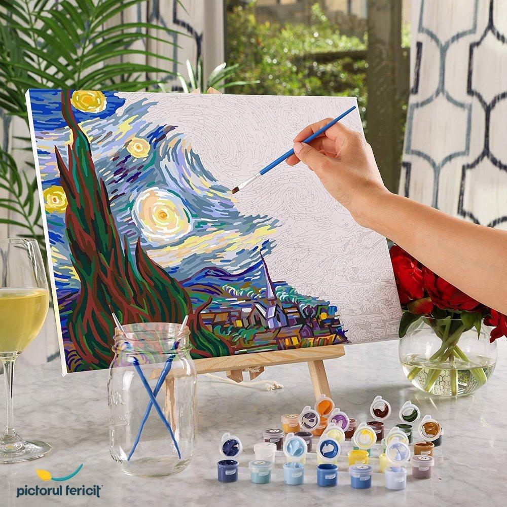 Pictorul Fericit - oricine poate crea tablouri demne de a fi expuse