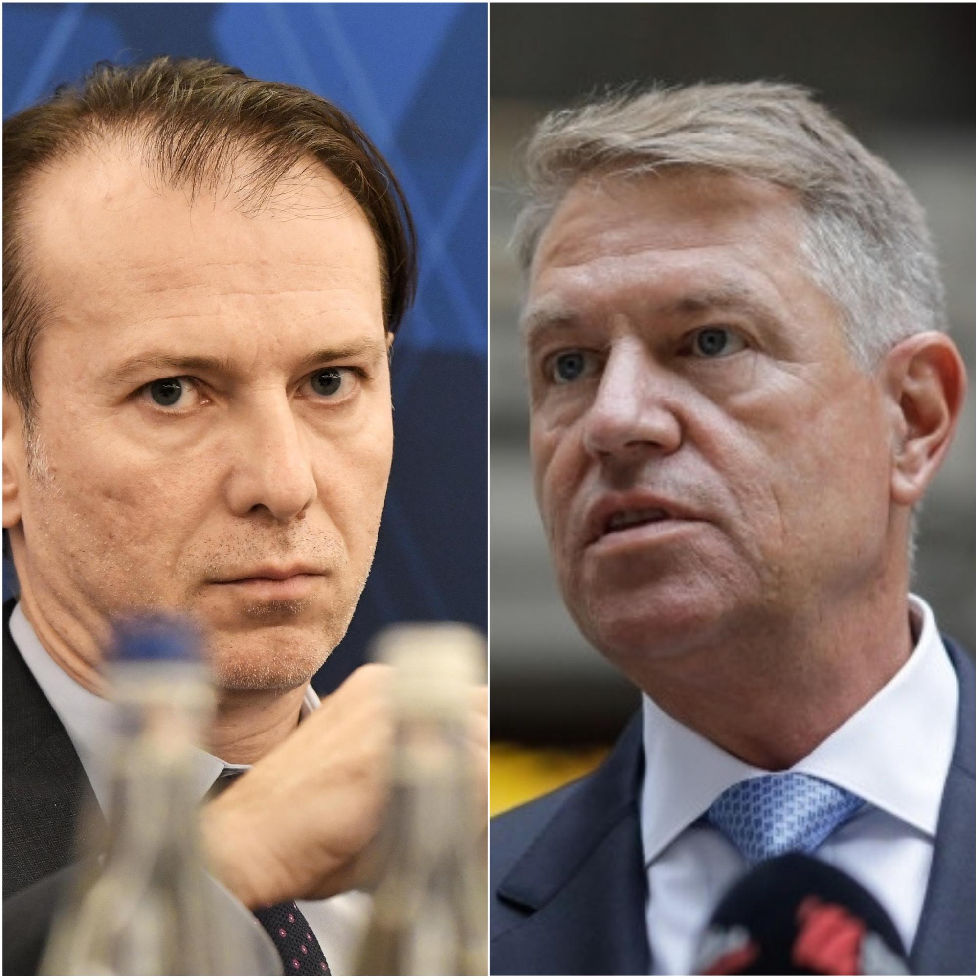 BREAKING | Klaus Iohannis se întâlnește cu Florin Cîțu la Palatul Cotroceni, să vadă cum o scot la capăt cu balamucul politic de la Palatul Victoria
