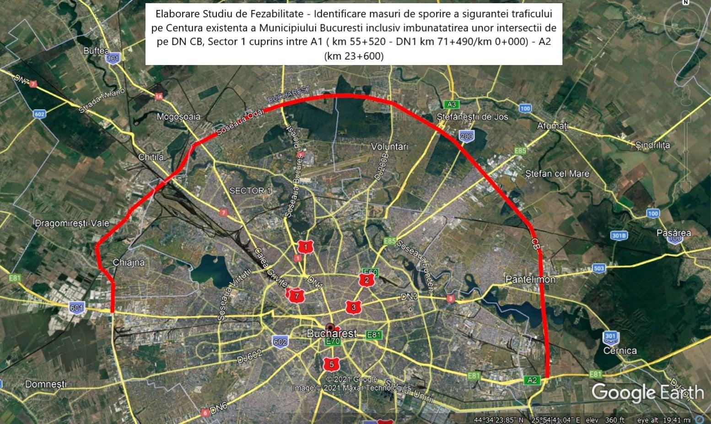 Începe modernizările la Centura Bucureşti. Trece la PMB și devine arteră urbană. Când va fi gata