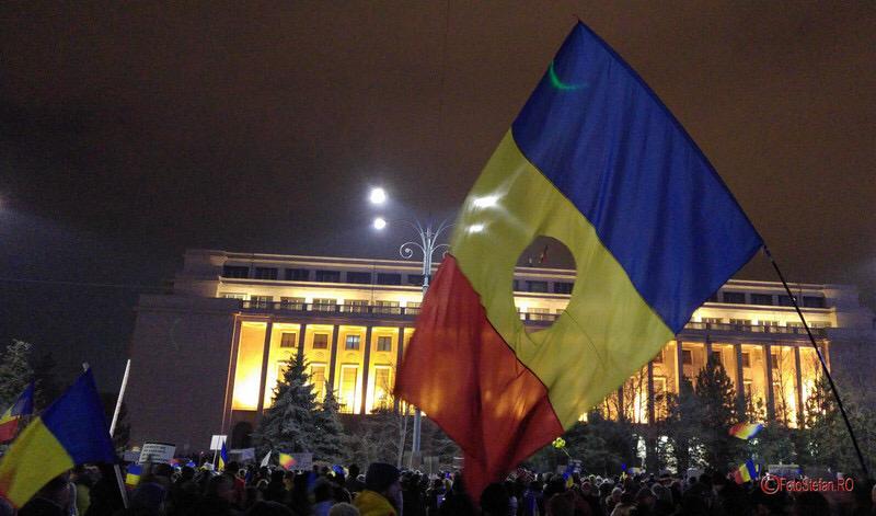 piata, victoriei, steag fara stema