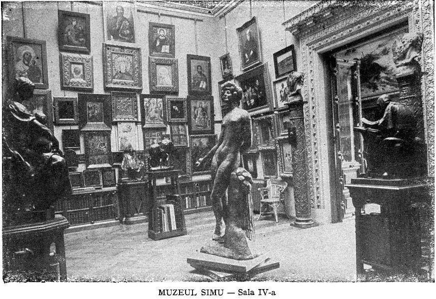 interior, muzeul, simu