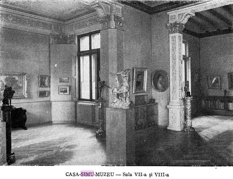 interior, muzeul,simu