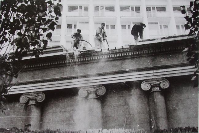 demolarea, muzeului, simu, foto rara