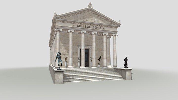 muzeul, simu, virtual