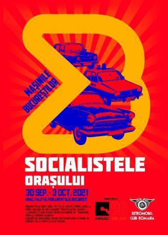 afis, socialistele orasului