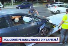 Photo of Noaptea accidentelor în București pe bulevardele centrale Unirii, Decebal și șoseaua Pantelimon: o mașină răsturnată și mai multe avariate