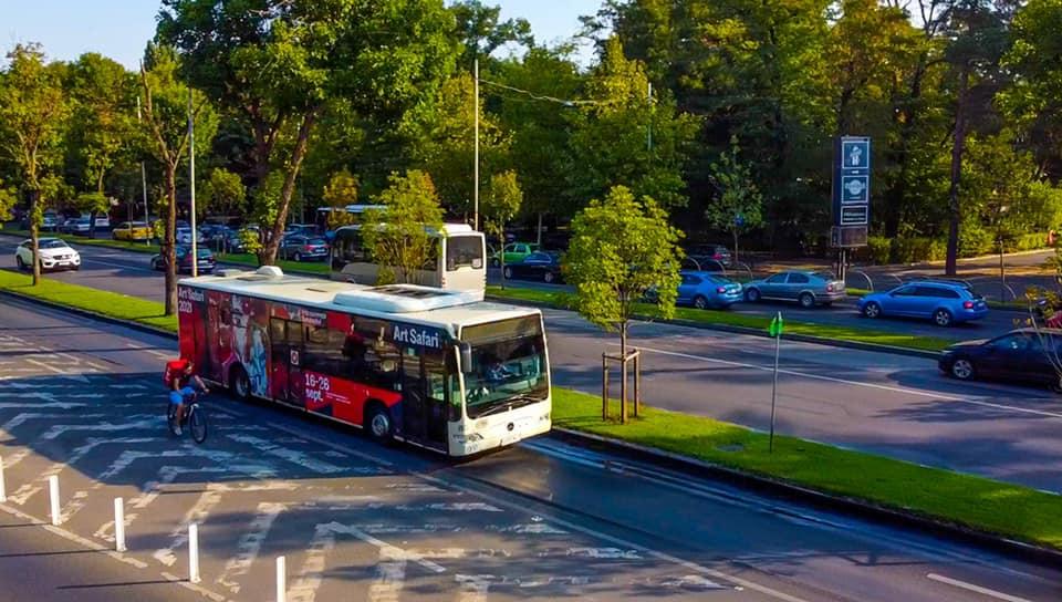 Arta merge și cu autobuzul prin București. STB anunță cum participă compania la Art Safari