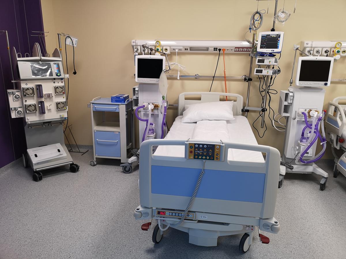 La nivel național sunt libere 16 paturi ATI pentru pacienții bolnavi de COVID-19. Situația la zi din București