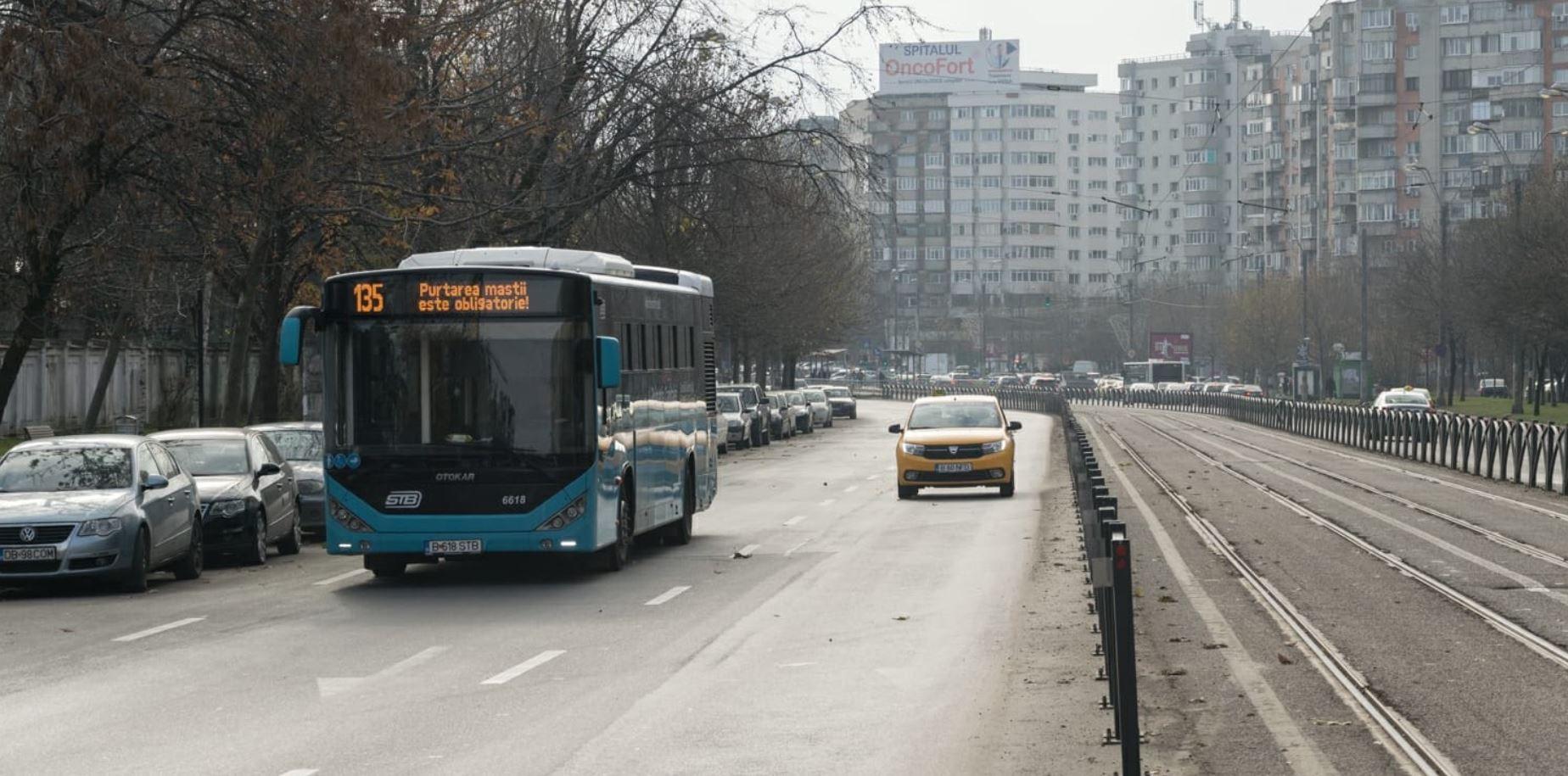 Vești bune pentru bucureșteni. STB reintroduce temporar linia de autobuz 780 din cauza lucrărilor la calea ferată între Gara Basarab și Aeroportul Otopeni