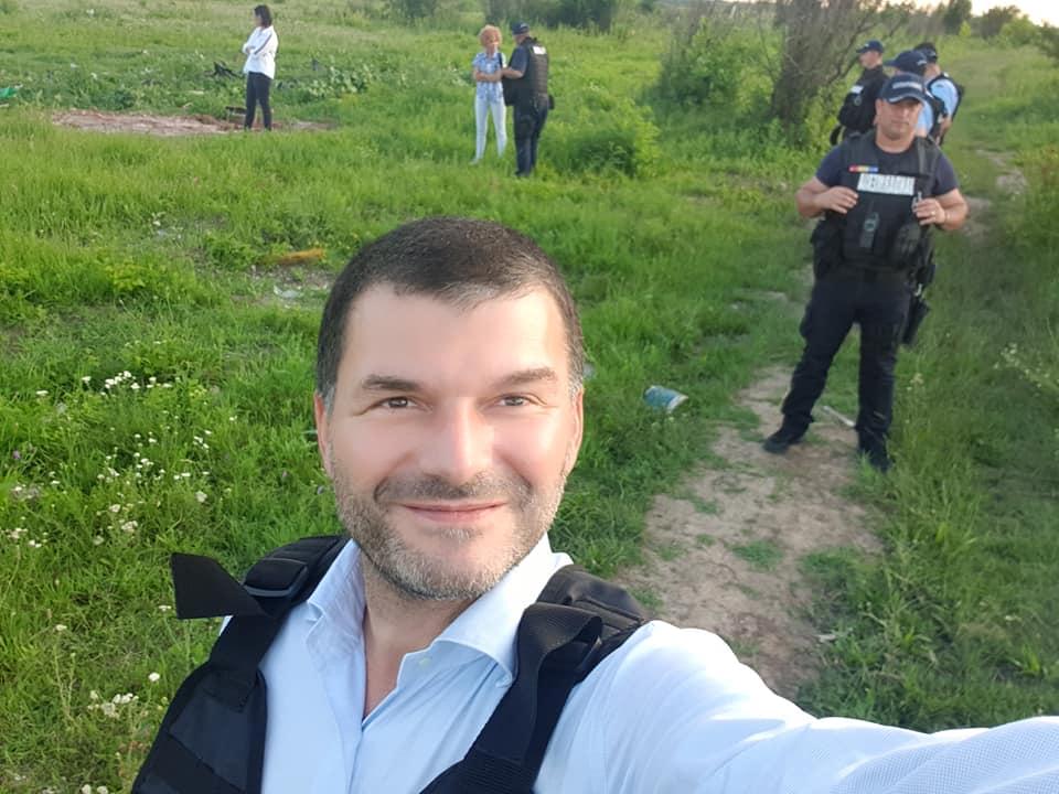 Cîțu l-a demis pe șeful Gărzii de Mediu Octavian Berceanu, omul care a declarat război arderilor ilegale de deșeuri de lângă București