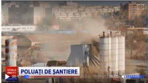Poluarea din București. Stație de betoane închisă lângă noul complex de locuințe Exigent Plaza. Primar: Avem ochi peste tot