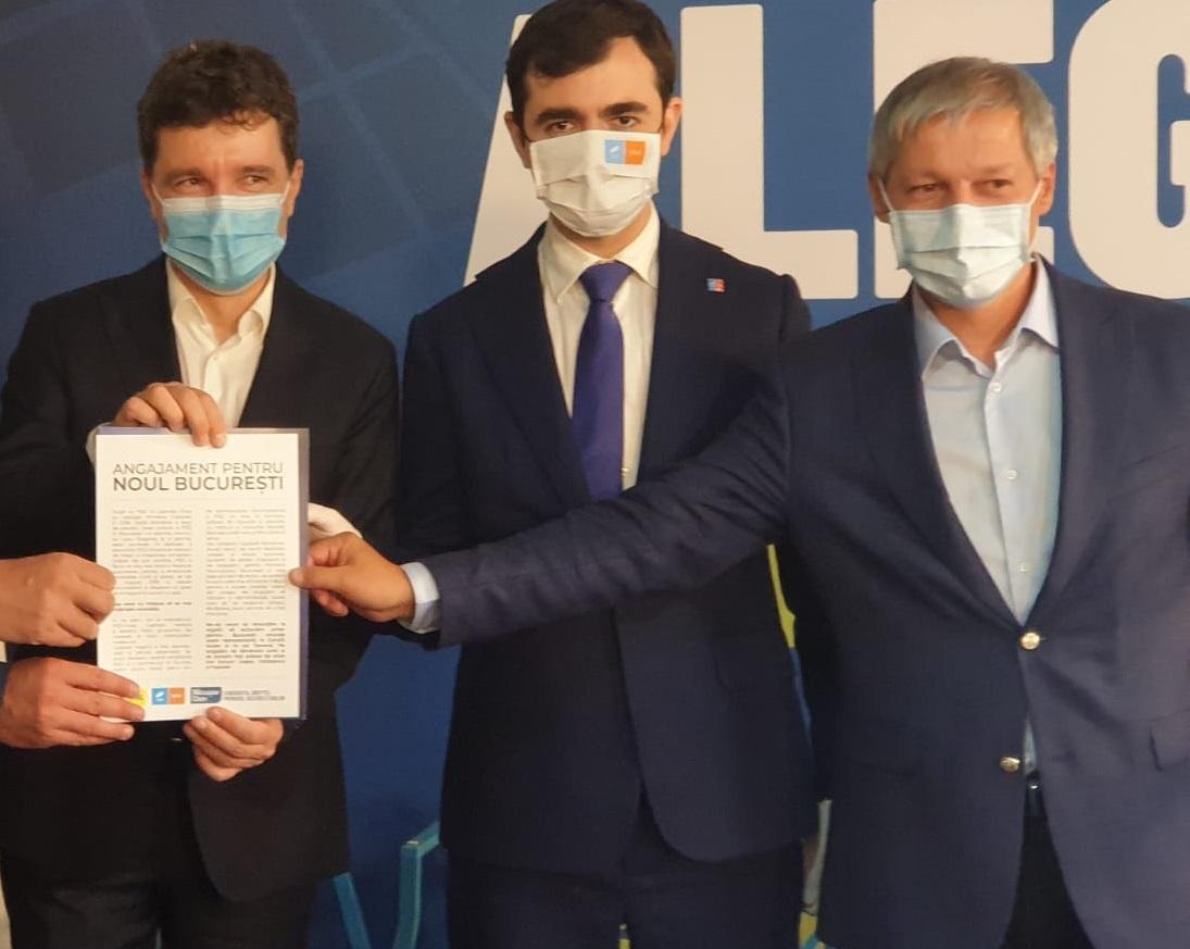Episod cu Dacian Cioloș și Nicușor Dan, dinainte ca unul să renunțe să candideze la Primăria Capitalei din partea PNL și celălalt ajuns primar cu susținerea PNL