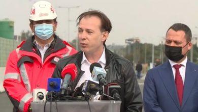 Photo of VIDEO Șoferii l-au claxonat pe premierul Florin Cîțu pe Șoseaua de centură și i-au bruiat declarațiile de la inaugurarea Pasajului Mogoșoaia