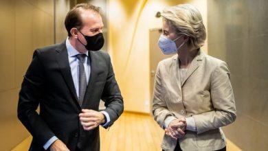 Photo of Ursula von der Leyen, vizită la București. Președintele CE, întâlnire cu Cîțu și Iohannis privind aprobarea PNRR