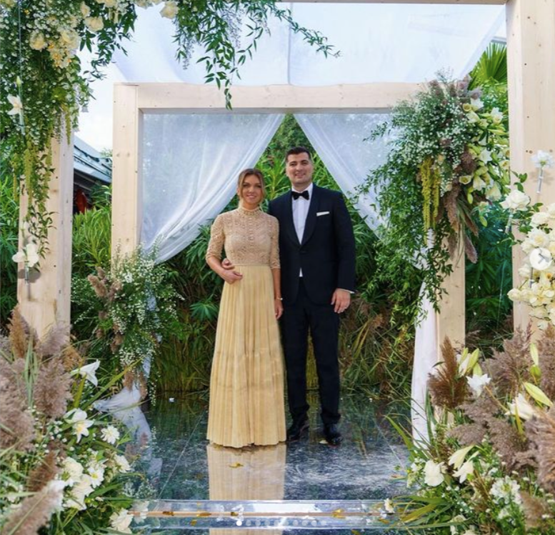 Cum a fost la nuntă la Simona Halep