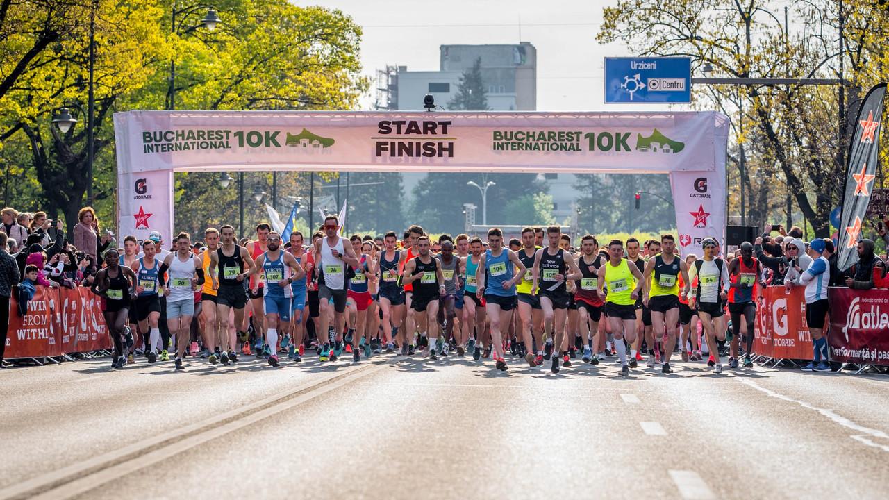 """Maratonul """"Bucharest International 10k"""" are loc în acest weekend. Mai multe artere principale din Capitală vor fi închise duminică"""