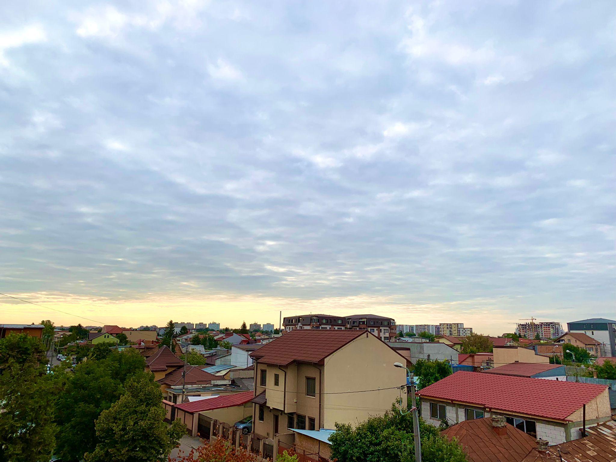 Vremea în București. Luați-vă jachetele, este răcoare afară