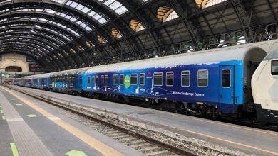 """Photo of Trenul """"Connecting Europe Express"""" sosește vineri în Gara de Nord din București. Acesta va traversa 26 de țări și va opri în peste 100 de orașe europene"""