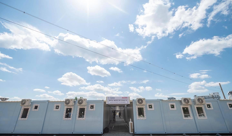 Spitalul modular din București închis, vital în acest moment, pentru care Gabriela Firea îi cere intervenția lui Nicușor Dan
