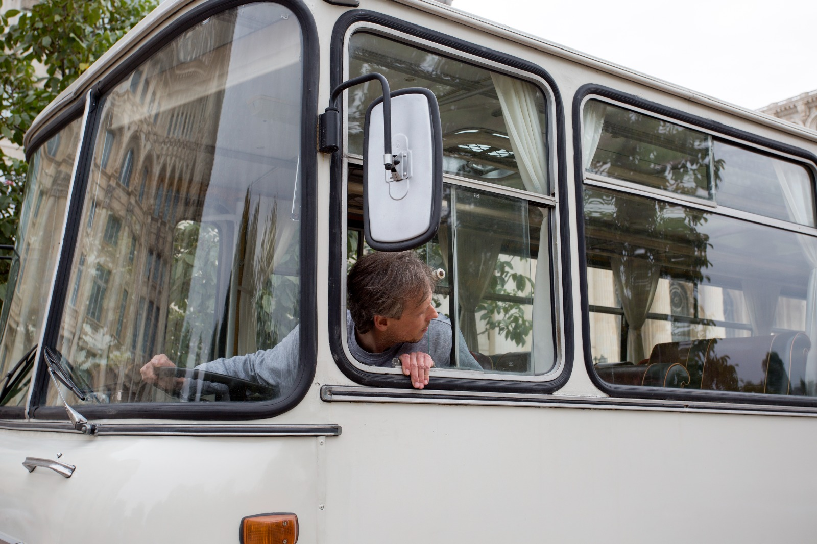 autobuz, comunist