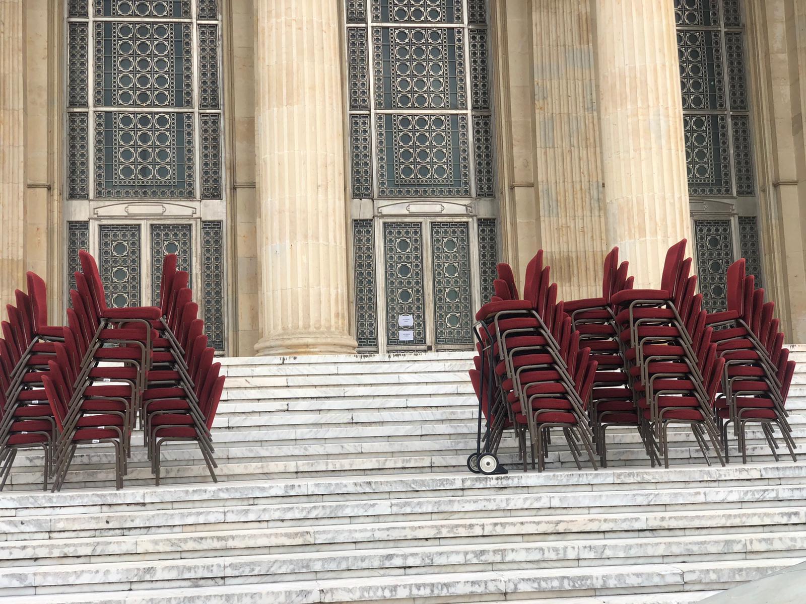 scaune, casa, poporului