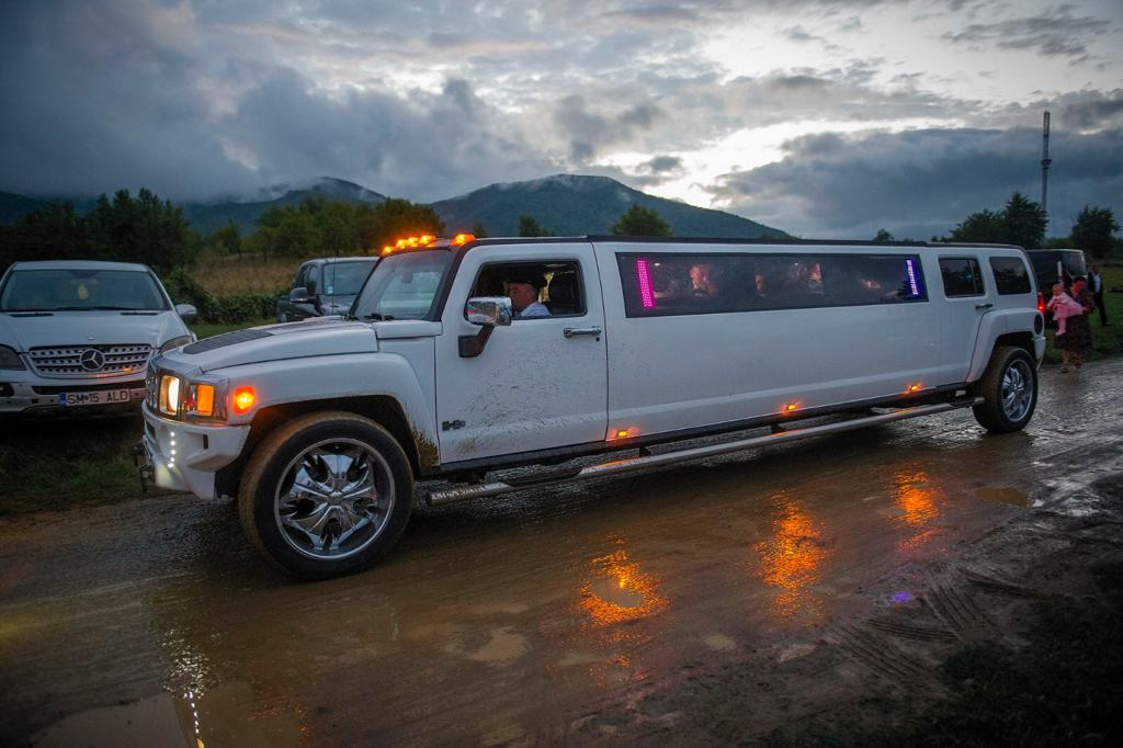 limuzina, nunta, petrut, calinescu