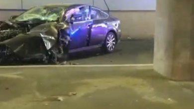 Photo of Accident grav în pasajul de la Piața Sudului. Un bolid s-a răsucit de trei ori înainte să se izbească de parapet | FOTO