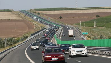 Photo of Accident în lanț pe Autostrada Soarelui. Coloană de mașini spre București după ce patru mașini s-au ciocnit
