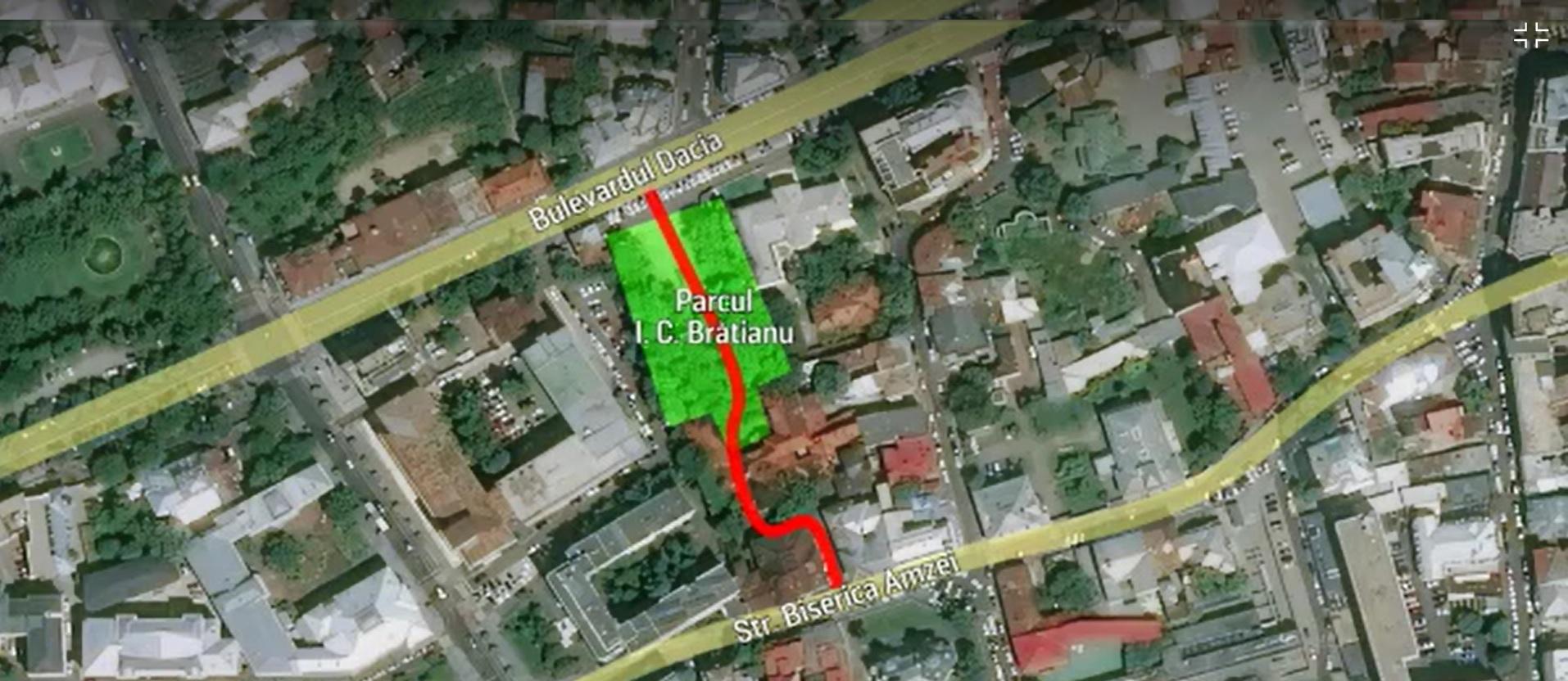 Bucureștiul are un nou traseu pietonal. Parcul și casa I.C. Brătianu, redeschise pentru ochii curioșilor