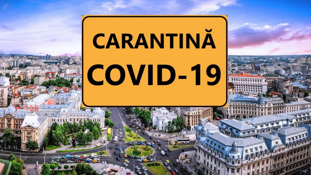Ce ar înseamna carantină pentru București și Ilfov. Se închid școlile, restaurantele, iar la intrarea în oraș va fi pază?