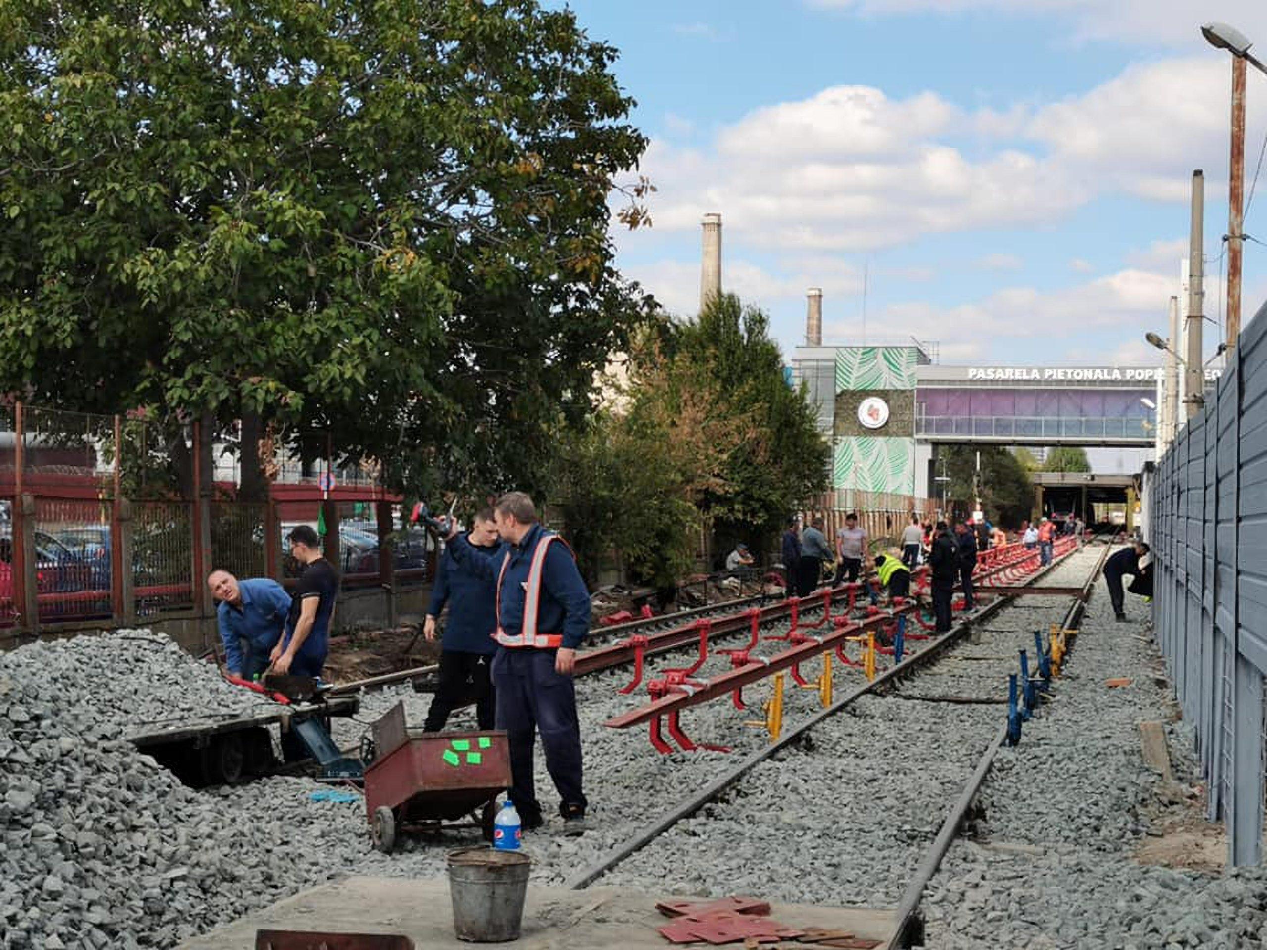 Metrorex anunță finalizarea liniei ce face legătura cu noua stație de metrou Tudor Arghezi. Iată imagini de la fața locului | FOTO