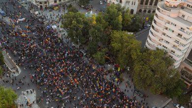 Photo of Proteste în București, în Piața Victoriei și la Universitate. Cele două mitinguri s-au unit, trafic blocat | VIDEO UPDATE