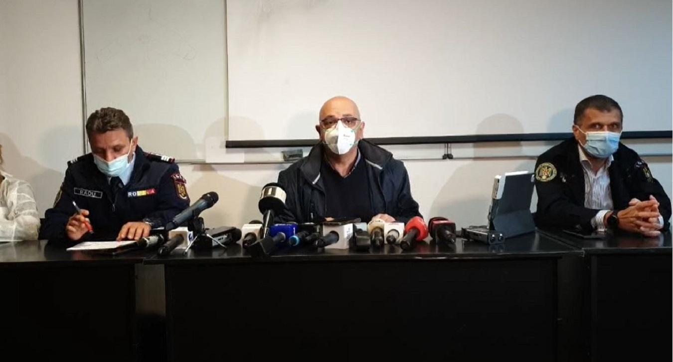 Trimis de Cîțu de la București la Constanța, Arafat se bucură: Ne bucurăm că sunt 7, și nu 9 morți