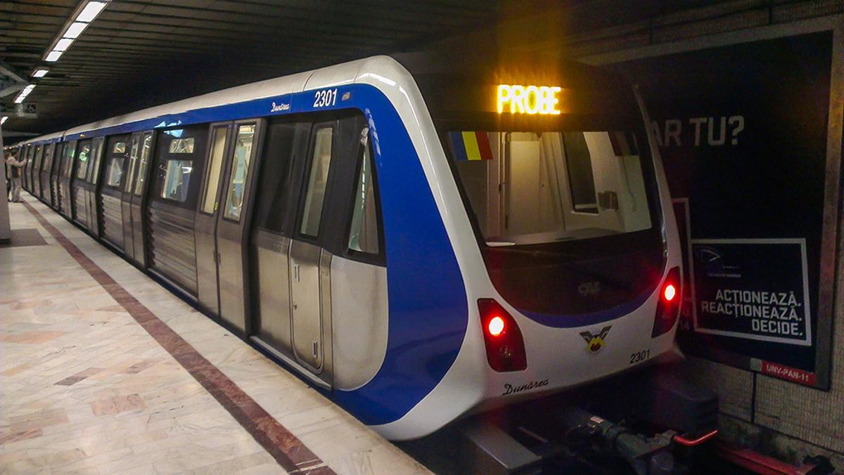 Metrorex a demarat o campanie împotriva tentativelor de suicid de la metrou: Călătoria continuă. Alege viaţa!